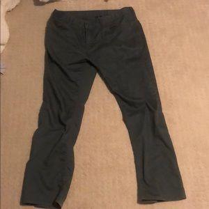 Men's slim fit gray jeans